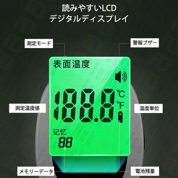[ご好評につき再入荷x総合ランキング入賞]日本語説明書同梱 体温計 非接触型 非接触電子体温計 温度計 額体温計 おでこ温度計  在庫あり fedick 09