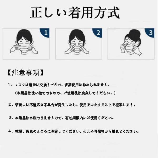【在庫あり 即納〜一週間までに配送】3層構造 マスク ホワイト 使い捨て 30・50枚入り PM2.5対応 不織布 超快適 花粉症対策 風邪予防 BEF99.9% 抗菌 大人用 fedick 11