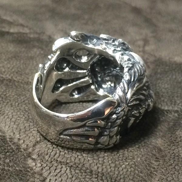 龍デザインのリング  ドラゴンリング シルバー925 指環  vastmasdesign バストマスデザイン|feeding|04