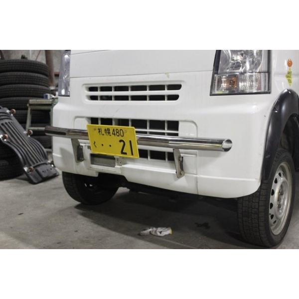 64V/Wエブリイ/NV100クリッパー/スクラム用バンパーステイライト全国送料無料!|feel-parts-shop