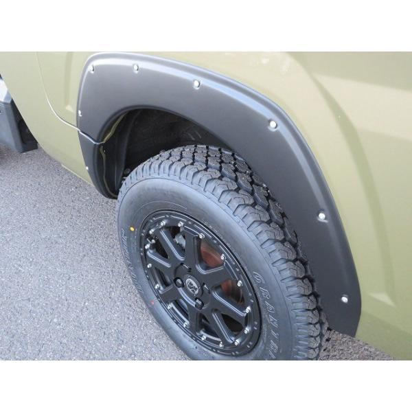 S500系 ハイゼット サンバー ピクシス 専用9ミリ幅継続車検対応ABS樹脂製オーバーフェンダー シボ柄 塗装済み |feel-parts-shop|14