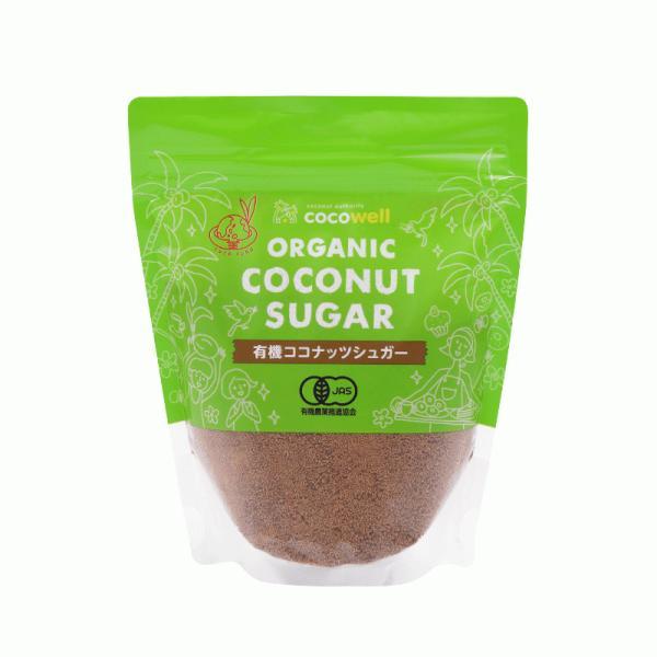 ココウェルココナッツシュガー250g無添加無漂白の天然糖