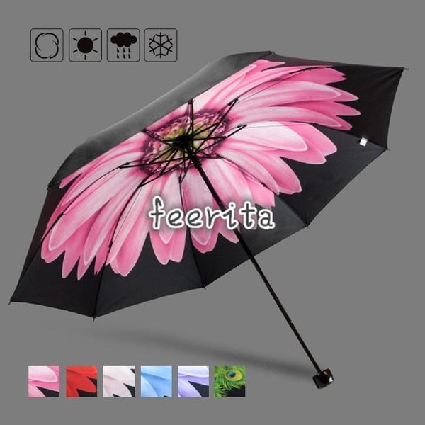 日傘折りたたみ日傘遮光UV傘レディース晴雨兼用傘紫外線対策遮熱傘大きい軽量丈夫傘遮光効果カサ
