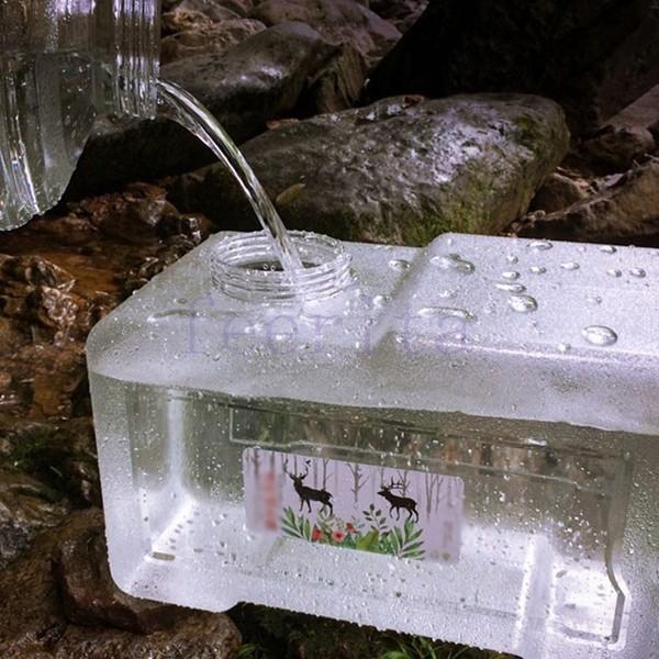 22リットル ウォータータンク 水 タンク アウトドア 給水 貯水 防災グッズ 地震対策グッズ 給水タンク キャンプ用品 バーベキュー ポリタンク 給|feerita|05