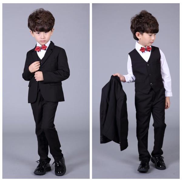 66fed8628d497 子供服 スーツ 男の子 フォーマル 6点セット 激安 子供 卒業式 スーツ フォーマルスーツ 子供 ...