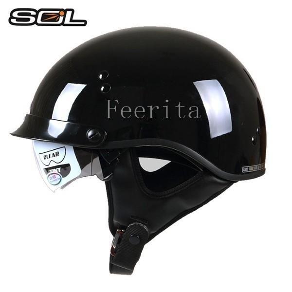 ハーフヘルメット バイクヘルメット 半帽 オープンフェイス  ジェットヘルメット バイク ヘルメット ジェット 安全規格 半帽 メンズ レディース|feerita