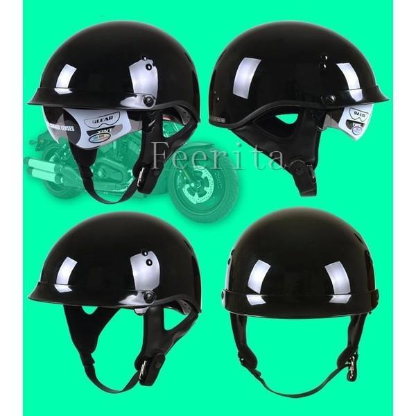 ハーフヘルメット バイクヘルメット 半帽 オープンフェイス  ジェットヘルメット バイク ヘルメット ジェット 安全規格 半帽 メンズ レディース|feerita|05