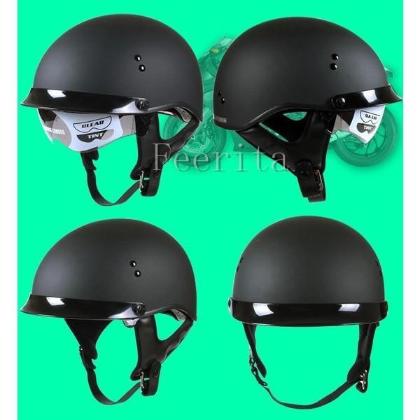 ハーフヘルメット バイクヘルメット 半帽 オープンフェイス  ジェットヘルメット バイク ヘルメット ジェット 安全規格 半帽 メンズ レディース|feerita|06
