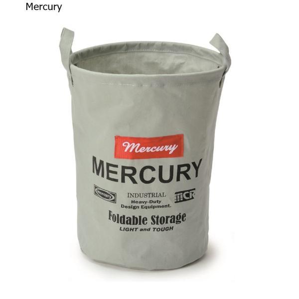Mercury マーキュリー キャンバスバケツ M  グレイ|feijoa