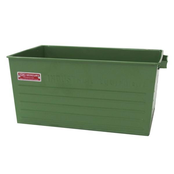 収納ボックス 収納 マーキュリー スチールコンテナボックス Lサイズ ガレージ整理 工具収納 アメリカン雑貨|feijoa|04