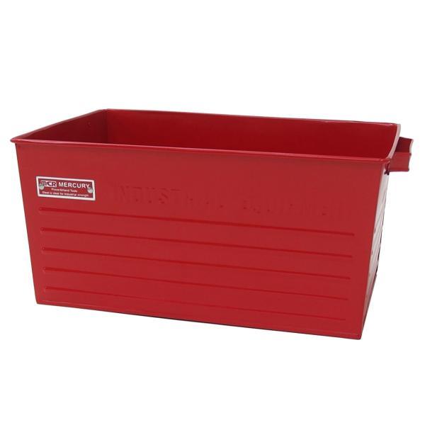 収納ボックス 収納 マーキュリー スチールコンテナボックス Lサイズ ガレージ整理 工具収納 アメリカン雑貨|feijoa|05
