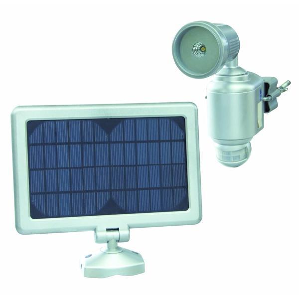 メーカー公式 日動 ソーラーLEDスポットライト センサーライト 限定モデル 屋外型 SLS-1W-SO