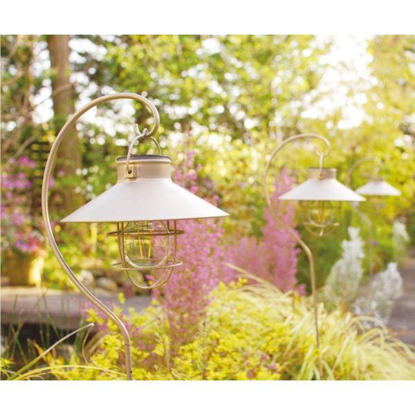 キシマ ガーデンライト ソーラー led ソーラーガーデンライト ソーラーライト アンティーク 屋外 外灯 照明 電球色 電池 スタンド&ス|felicevoice-store|06
