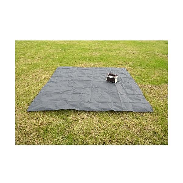 レジャーシート グランドシート 防水 折り畳み式 収納バック付き テント用 花見 ビーチ キャンプ ピクニック felicevoice-store 05