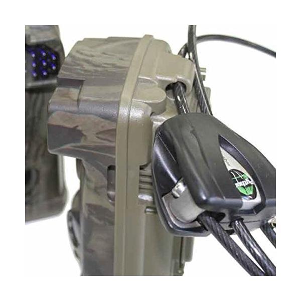 トレイルカメラ用ケーブルロック(Ltl-6210MC用)