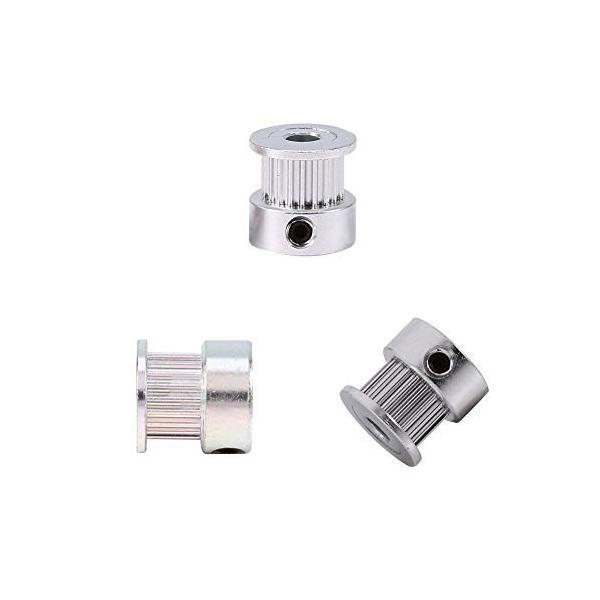 Comgrow 2PCS 5mm 20歯 GT2タイミングプーリーホイール Creality 3Dプリンター 2GT-20歯 同期ホイールアルミタイミングプ felicevoice-store 02