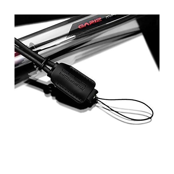 GARIZ 本革カメラリストストラップ XS-WS1 ブラック