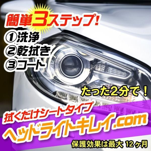 ヘッドライトキレイ.comhkcom1黄ばみ取り簡単作業
