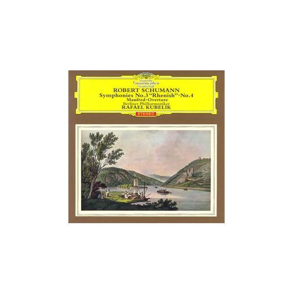 シューマン:交響曲第3番&第4番 / クーベリック (CD)
