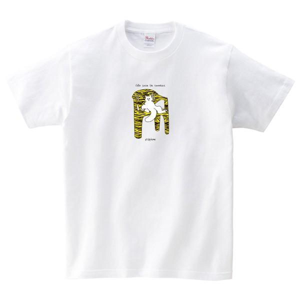chill out Tシャツ 新型コロナ撲滅Tシャツ 白|fellows7