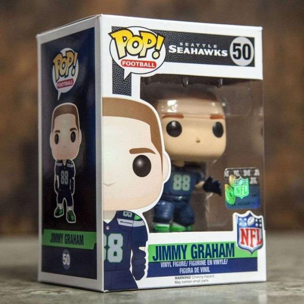 NFL フィギュア pop nfl: wave 3 - seattle seahawks jimmy graham navy fermart-hobby 04