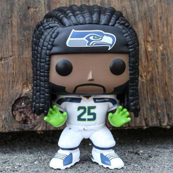NFL フィギュア pop sports nfl seattle seahawks - richard sherman green/white fermart-hobby
