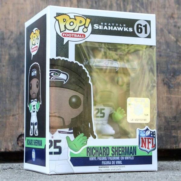 NFL フィギュア pop sports nfl seattle seahawks - richard sherman green/white fermart-hobby 04