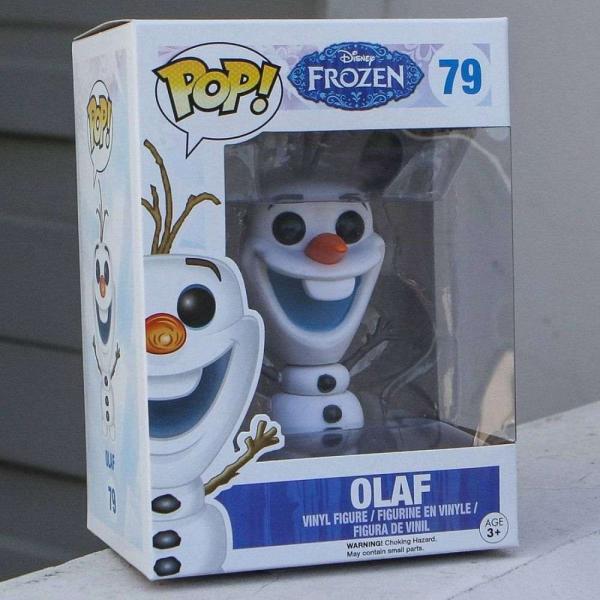 アナと雪の女王 Frozen フィギュア pop frozen - olaf blue|fermart-hobby|05