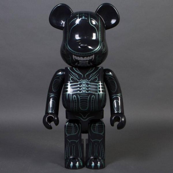 エイリアン Alien フィギュア aliens warrior alien 1000% bearbrick figure black|fermart-hobby