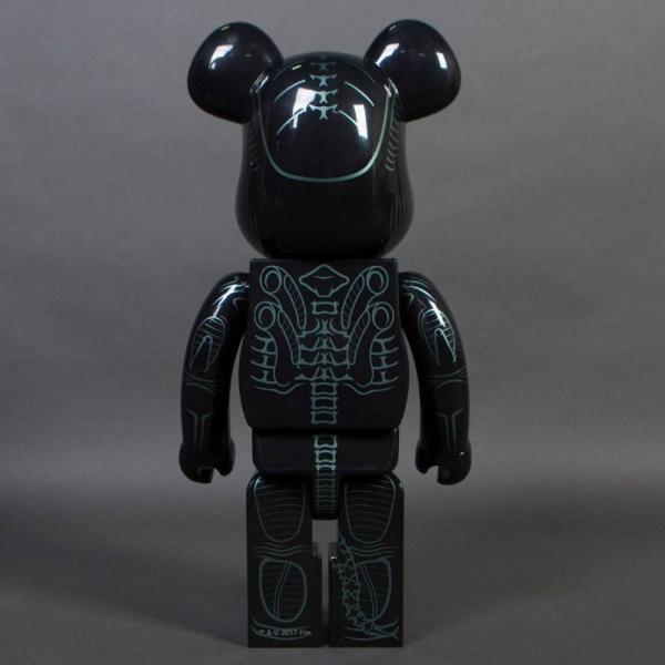 エイリアン Alien フィギュア aliens warrior alien 1000% bearbrick figure black|fermart-hobby|02