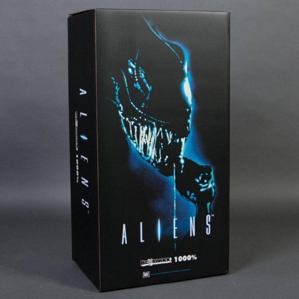 エイリアン Alien フィギュア aliens warrior alien 1000% bearbrick figure black|fermart-hobby|03