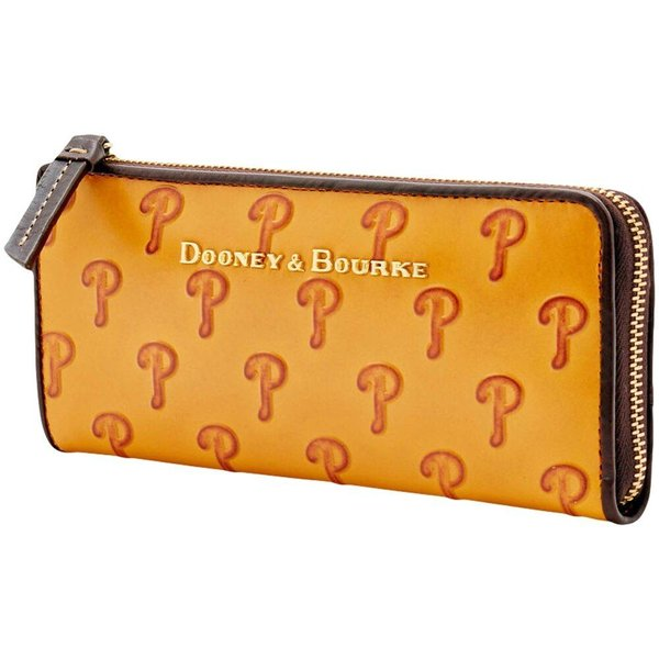 ドゥーニー&バーク Dooney & Bourke レディース クラッチバッグ バッグ Philadelphia Phillies Leather Zip Clutch