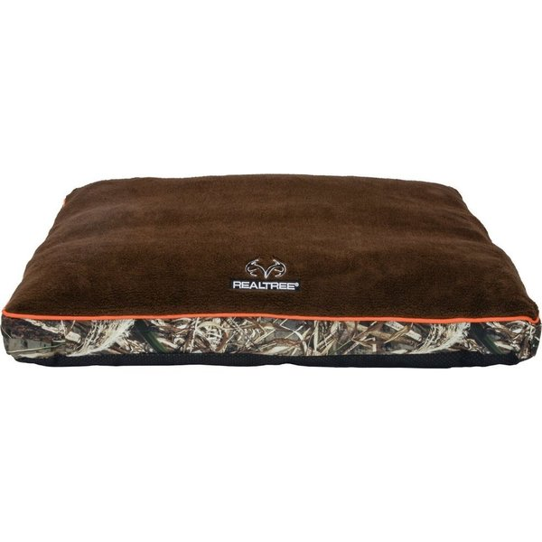 Realtree リアルツリー ペットグッズ 犬用品 ベッド・マット・カバー ベッド Gusseted Memory Foam Pillow Cat & Dog Bed w/Removable Cover