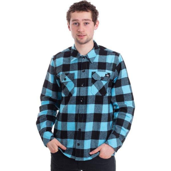 ディッキーズ Dickies メンズ シャツ トップス Sacramento Ocean Shirt blue|fermart-hobby