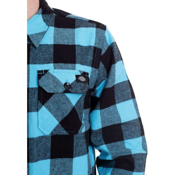 ディッキーズ Dickies メンズ シャツ トップス Sacramento Ocean Shirt blue|fermart-hobby|03
