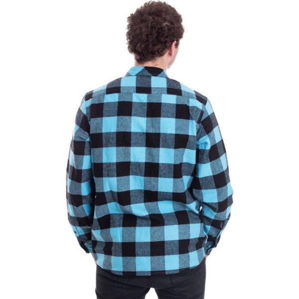 ディッキーズ Dickies メンズ シャツ トップス Sacramento Ocean Shirt blue|fermart-hobby|04