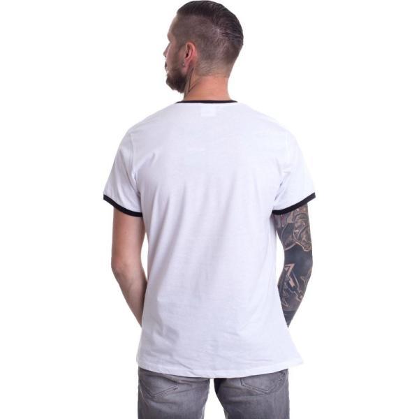 インペリコン Impericon メンズ Tシャツ トップス - Staff Logo Ringer White - T-Shirt white|fermart-hobby|02