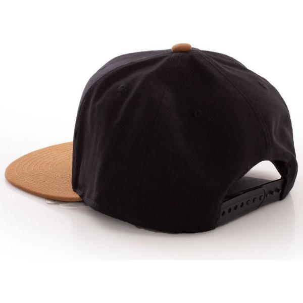 カーハート Carhartt WIP ユニセックス キャップ 帽子 - Logo Bi-Colored Black/Hamilton Brown - Cap black fermart-hobby 03