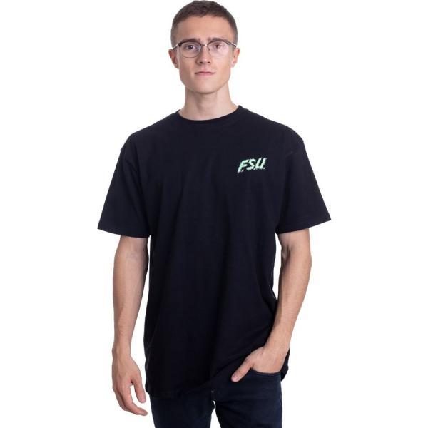 サンタクルーズ Santa Cruz メンズ Tシャツ トップス - F.S.U Hand Black - T-Shirt black fermart-hobby