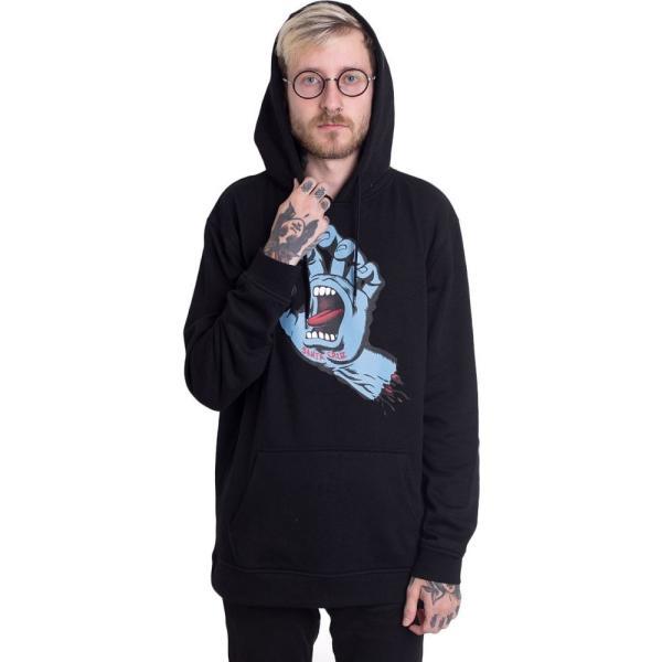 サンタクルーズ Santa Cruz メンズ パーカー トップス Screaming Hand Hoodie black|fermart-hobby|02