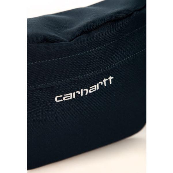 カーハート Carhartt WIP ユニセックス ボディバッグ・ウエストポーチ バッグ - Payton Duck Blue/White - Hip Bag blue|fermart-hobby|03