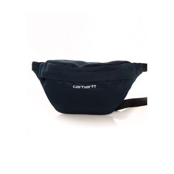 カーハート Carhartt WIP ユニセックス ボディバッグ・ウエストポーチ バッグ - Payton Duck Blue/White - Hip Bag blue|fermart-hobby|04