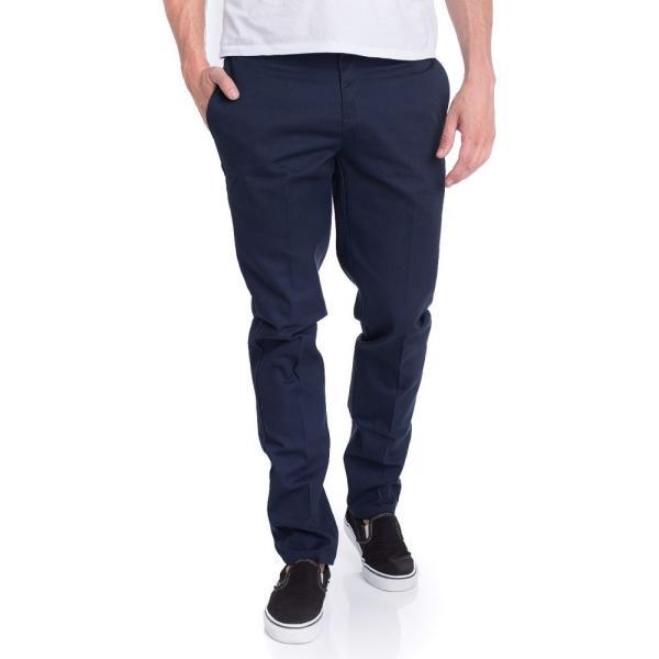 ディッキーズ Dickies メンズ ボトムス・パンツ Slim Fit Work 872 Dark Navy Pants blue|fermart-hobby
