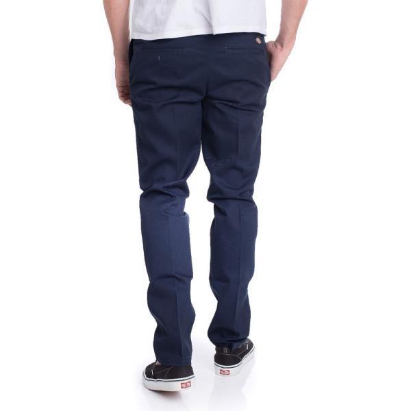 ディッキーズ Dickies メンズ ボトムス・パンツ Slim Fit Work 872 Dark Navy Pants blue|fermart-hobby|03