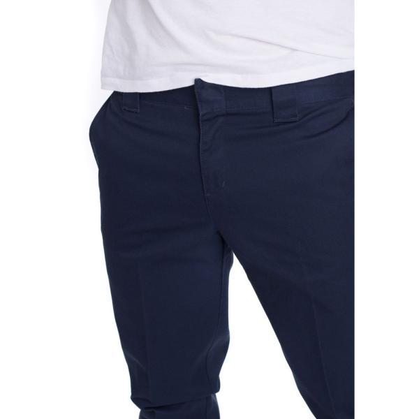 ディッキーズ Dickies メンズ ボトムス・パンツ Slim Fit Work 872 Dark Navy Pants blue|fermart-hobby|04