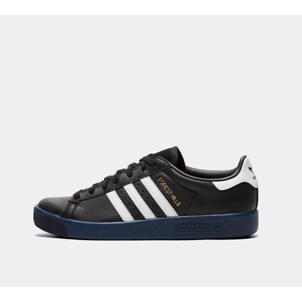 アディダス adidas Originals メンズ スニーカー シューズ・靴 Forest Hills Trainer Core Black / Footwear White / Marine|fermart-hobby