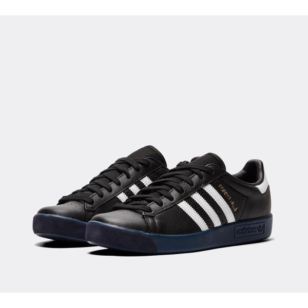 アディダス adidas Originals メンズ スニーカー シューズ・靴 Forest Hills Trainer Core Black / Footwear White / Marine|fermart-hobby|02