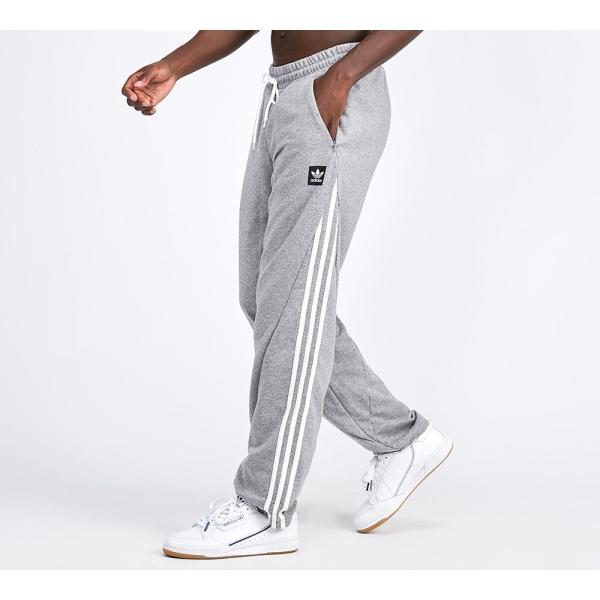 アディダス adidas Originals メンズ スウェット・ジャージ ボトムス・パンツ Insley Jog Pant Grey Heather / White|fermart-hobby