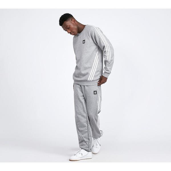 アディダス adidas Originals メンズ スウェット・ジャージ ボトムス・パンツ Insley Jog Pant Grey Heather / White|fermart-hobby|02