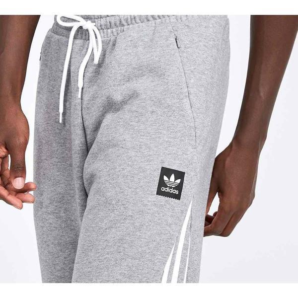 アディダス adidas Originals メンズ スウェット・ジャージ ボトムス・パンツ Insley Jog Pant Grey Heather / White|fermart-hobby|05